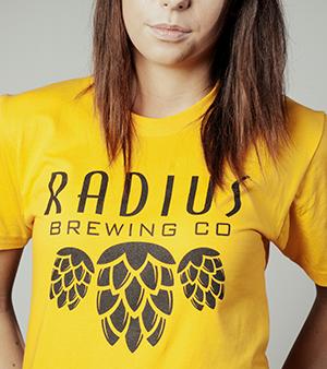 Radius Brewing - Yellow Tshirt