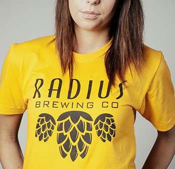 Radius Brewing - Yellow Tshirt