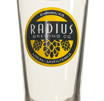 Radius Pint Glass