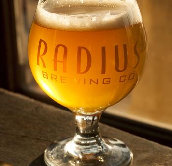Radius Brewing - Beer Glass