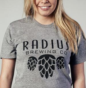 Radius Brewing - Grey Tshirt