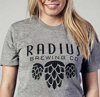 Radius Brewing - Grey Tshirt