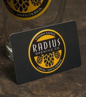Radius Brewing Gift Cards