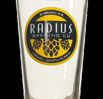Radius Pint Glass